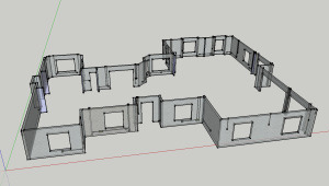 Sketchup Front View