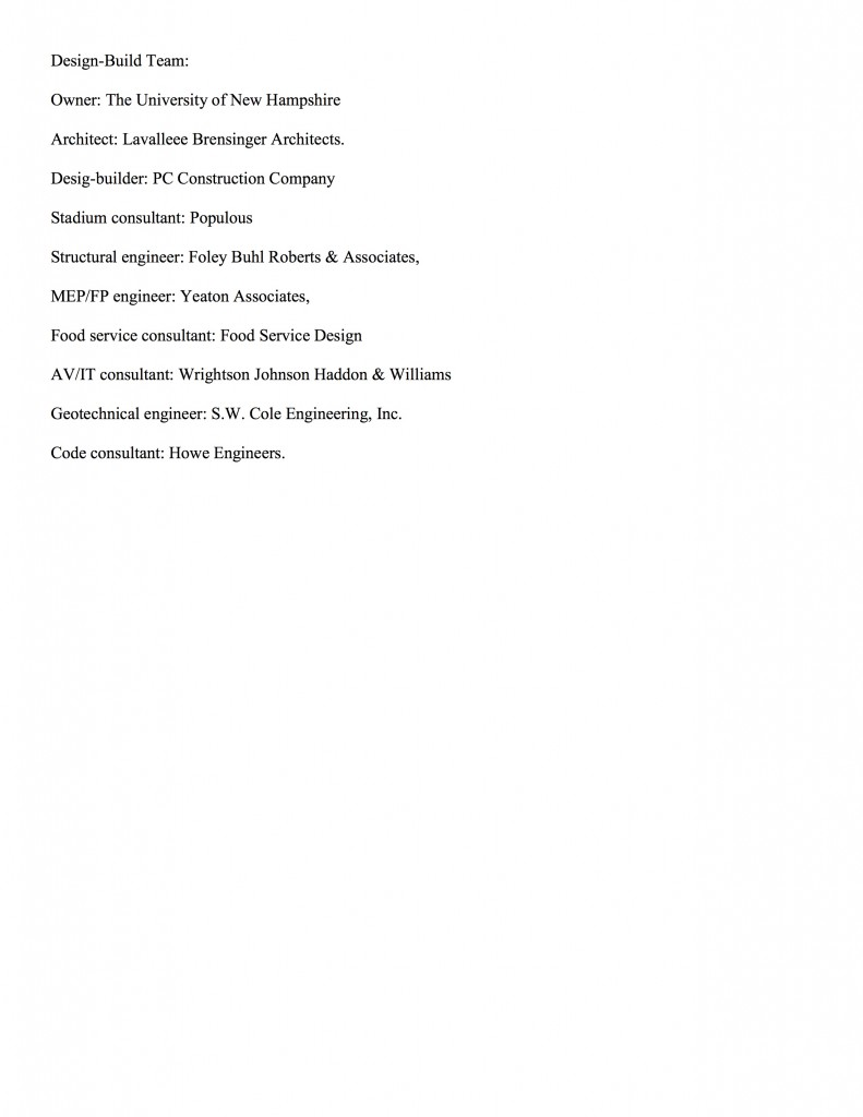 UNH Wildcat Stadium Under Construction page 2