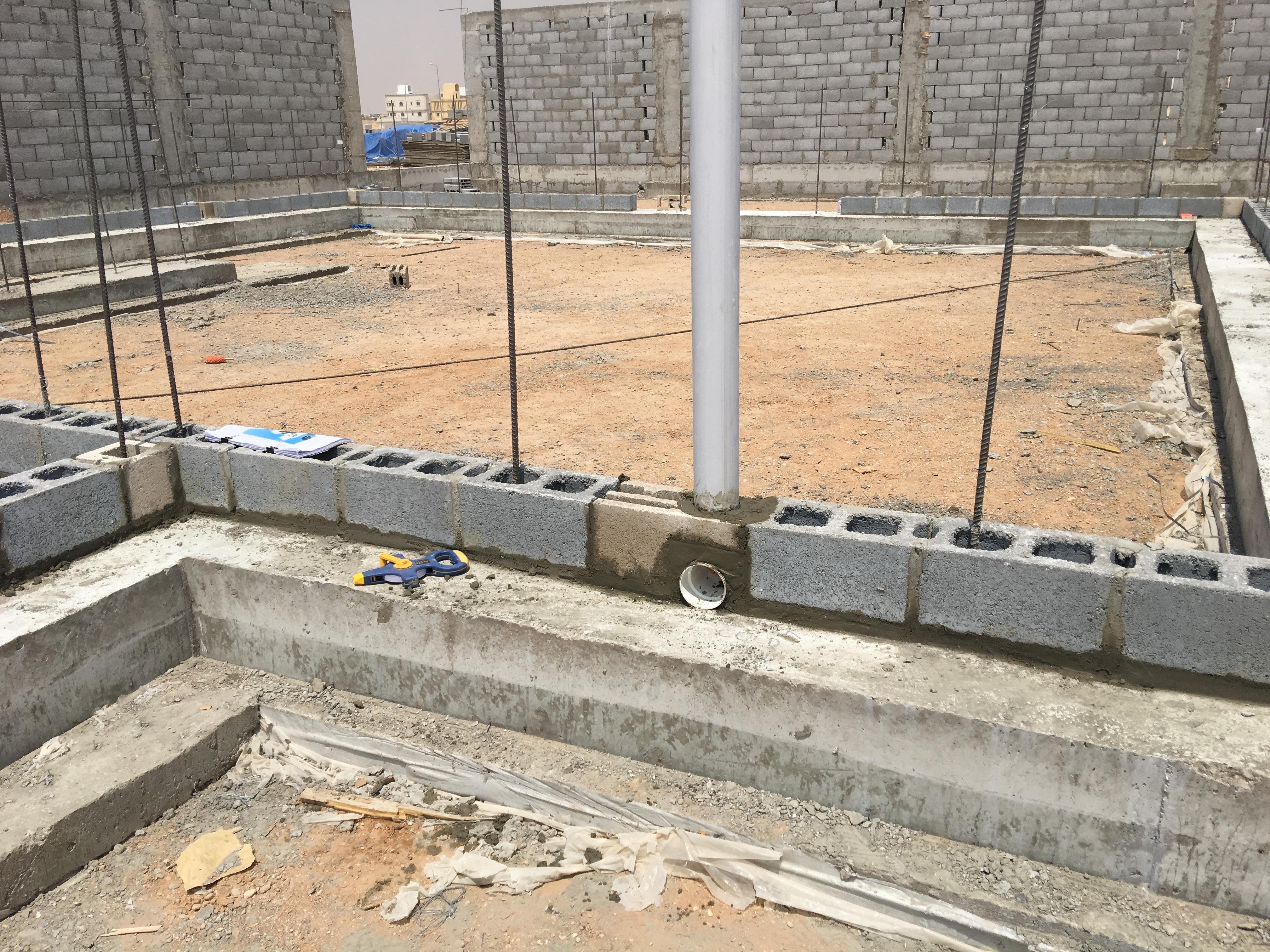 Plumbing Embeds Villa Riyadh Omniblock